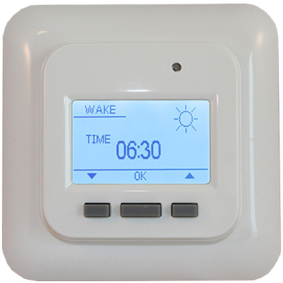 Varmecomfort Termostat 865 Digital Hvit