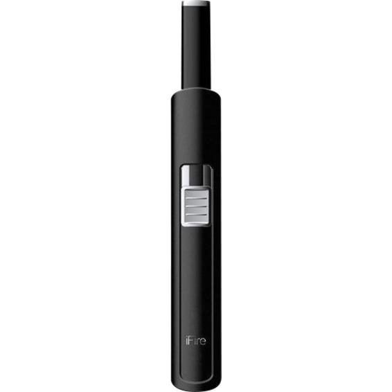 Lighter USB oppladbar sort