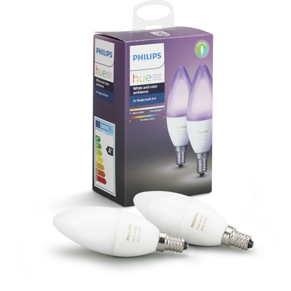 Philips Hue WCA E14 Lyskilde 6W 2pk