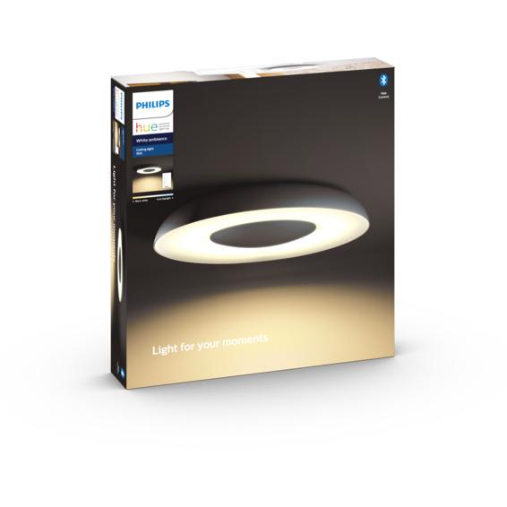 Philips Hue WA Still Taklampe 39W Sort