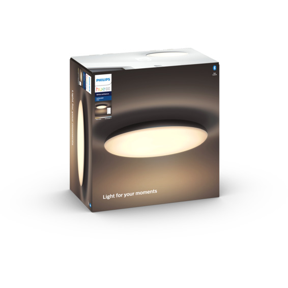 Philips Hue WA Cher Taklampe 39W Sort ink dim