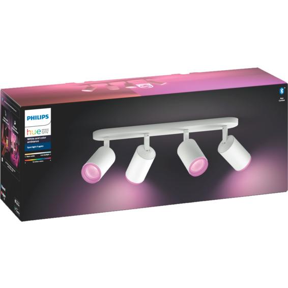 Philips Hue WCA Fugato Firedobbel Spotlight Hvit 5.7W BLT