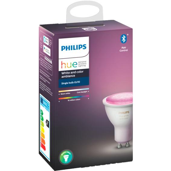 Philips Hue WCA GU10 Lyskilde 6W BLT