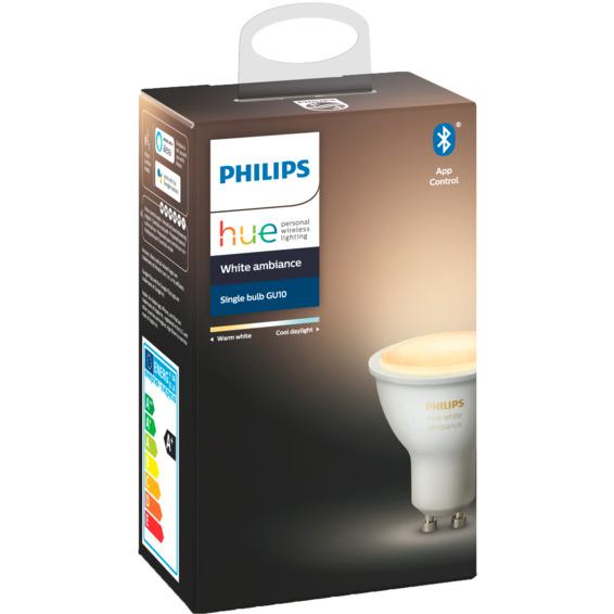 Philips Hue WA GU10 Lyskilde 6W BLT