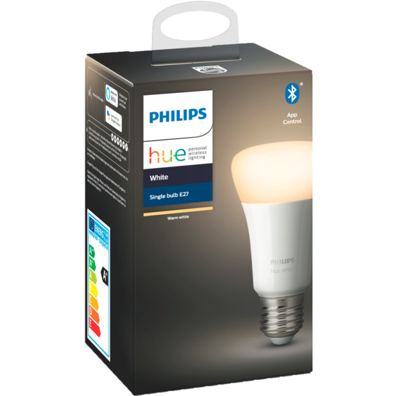 Philips Hue W E27 Lyskilde A60 9W BLT