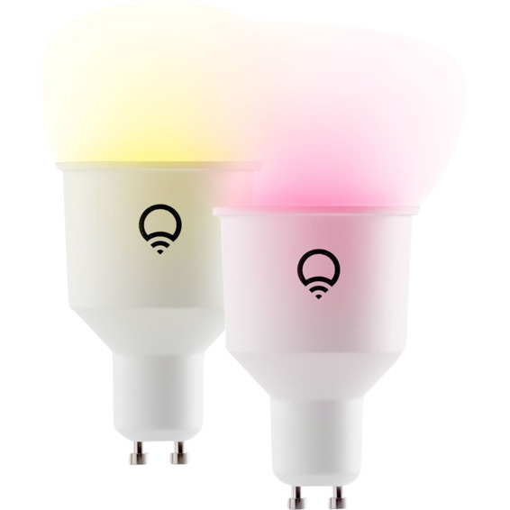 LIFX RGB GU10 WiFi Smart LED Lyskilde 2pk
