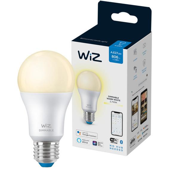 WiZ Lyskilde W 8,5W A60 E27 WiFi