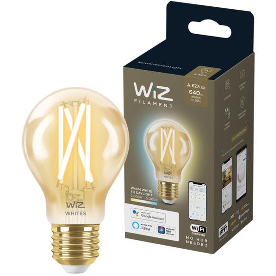 WiZ Lyskilde WA 6,7W A60 Gyllen E27 WiFi