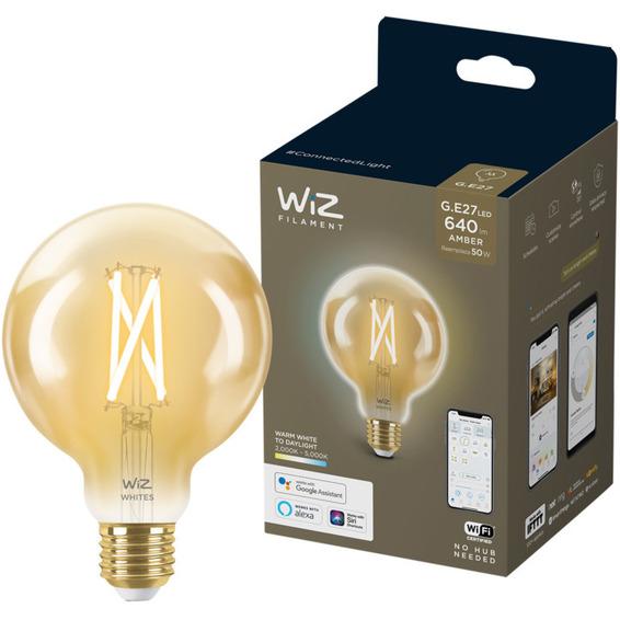 WiZ Lyskilde WA 6,7W G95 Gyllen E27 WiFi
