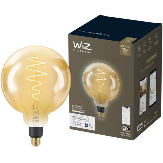 WiZ Lyskilde WA 6,5W G200 Gyllen E27 WiFi