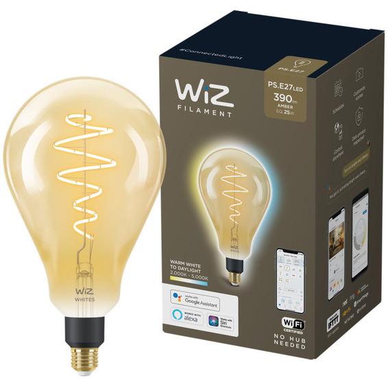 WiZ Lyskilde WA 6,5W PS 160 Gyllen E27 WiFi
