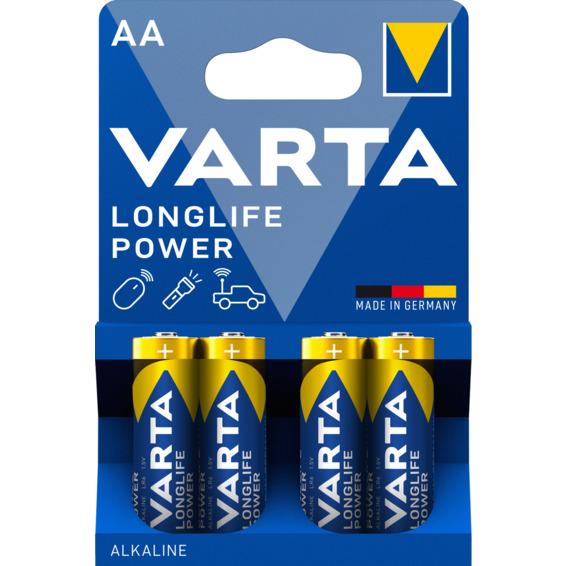 Batteri Varta High Energy LR06/AA 4-PK
