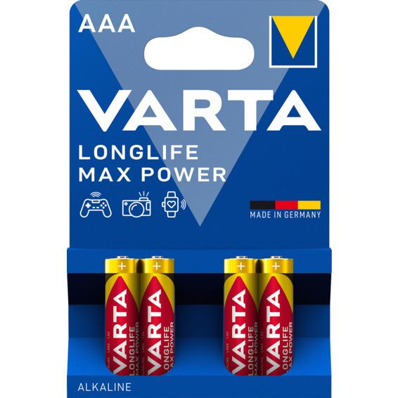 Batteri Varta Max Tech LR03/AAA 4-PK