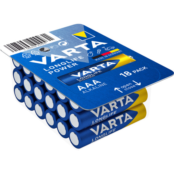 Batteri Varta High Energy LR03/AAA 18-PK