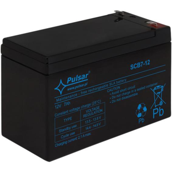 Blybatteri, 12V, 7Ah