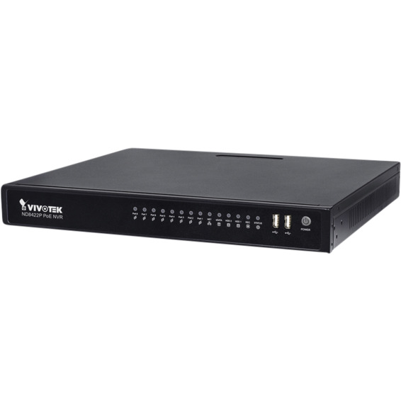 VIVOTEK ND8422P Embeded Plug & Play NVR Opptaker