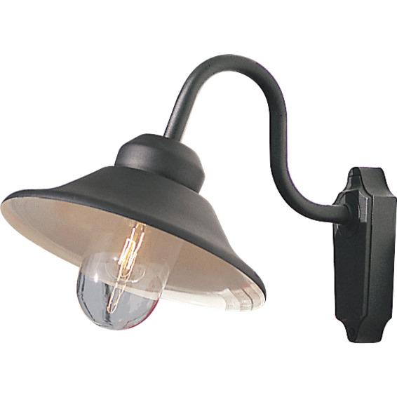 Vega vegglampe E27 svart IP23
