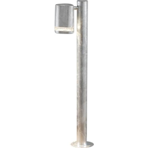 Modena lyktestolpe GU10 Galvanisert inkl stolpe IP44