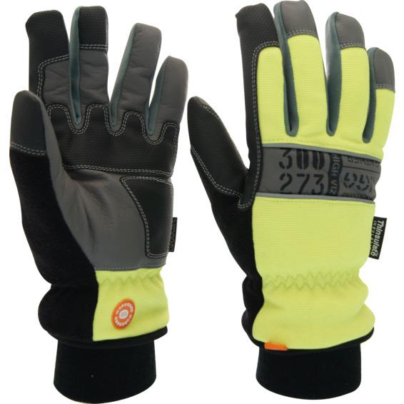 Vintervernehanske RIGG Leather Str 11