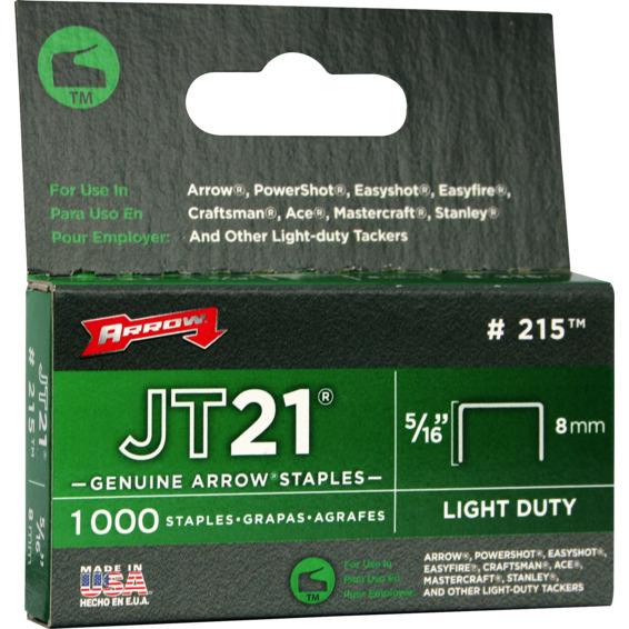 Arrow stifter 8mm JT21 5/16