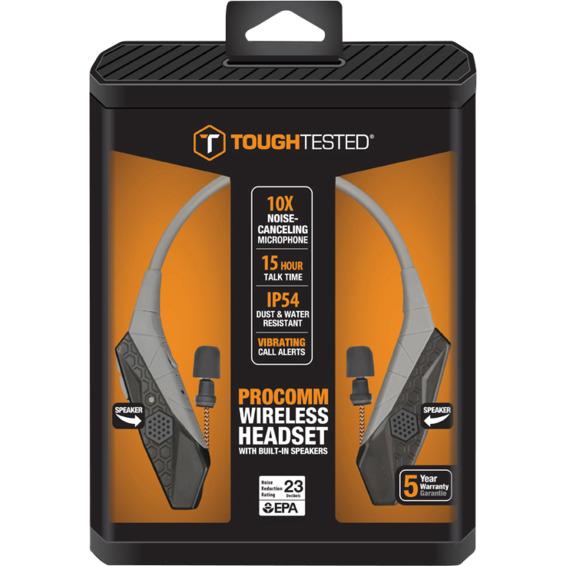 Bluetooth-neckband m/noise canceling og høyttaler