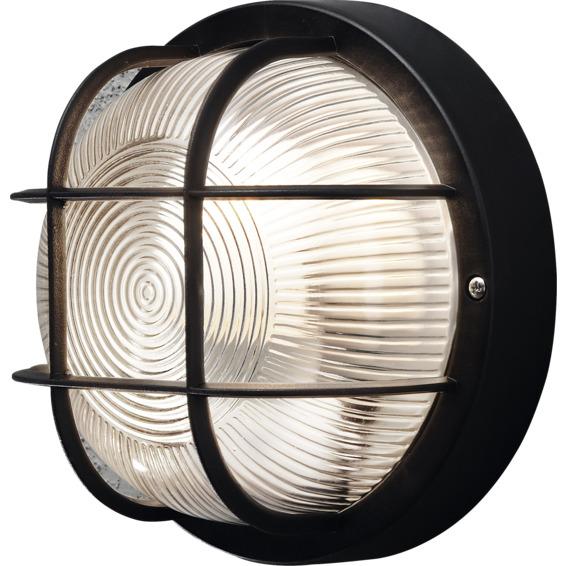 Vegglampe Mantova Sort 40W E27 IP44 Konstmide