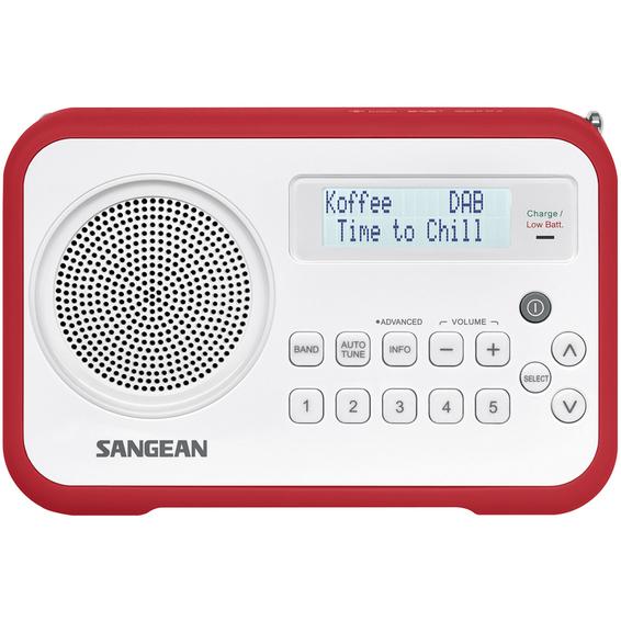 DAB+ Radio Sangean DPR67 Rød