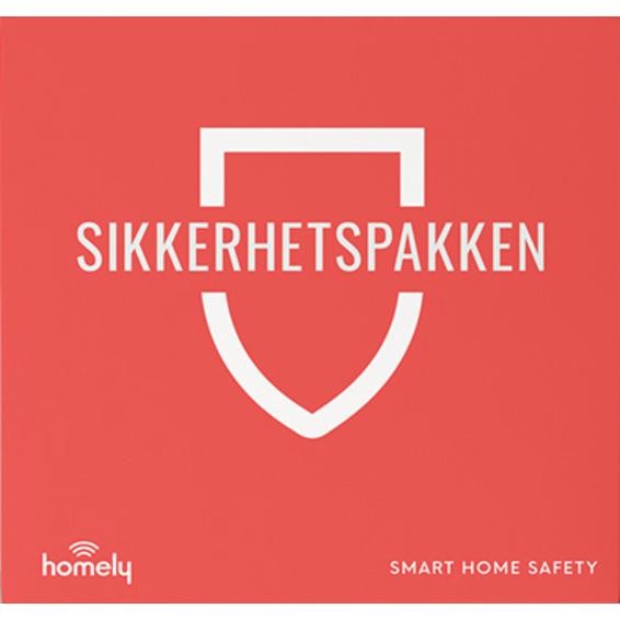 Homely Sikkerhetspakke m/3mnd abonnement