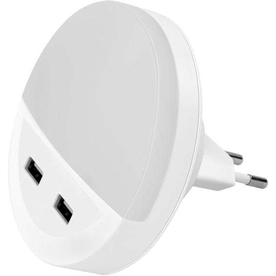 LED Nattlys Med USB Lader