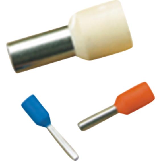 Isolert endehylse 16mm² Lengde 18mm 10-Stk