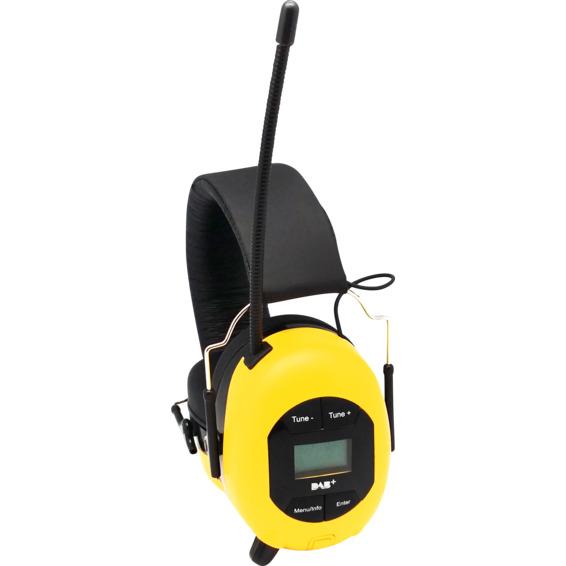 Modernistisk Hørselvern med DAB+ POP@work | Elektroimportøren AS HF-79