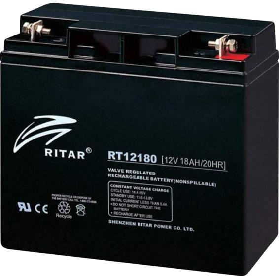 Ritar AGM Batteri 12V 8AH - RT1280 Standard