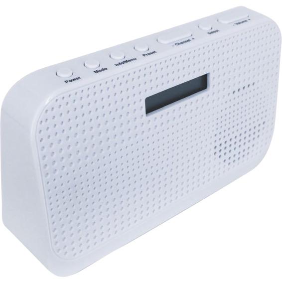 POPintro DAB+ Radio Hvit