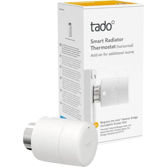 Tado Smart Radiator Thermostat Single Pack V3+