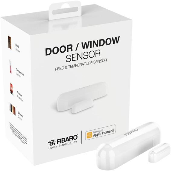 Fibaro Dør/Vindu Sensor Hvit HomeKit