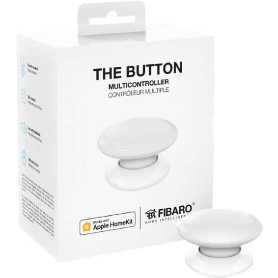 Fibaro The Button Hvit Homekit