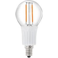12V E14 B45 2W 2x Filament led pære, varmhvit