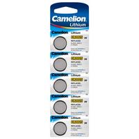 Batteri CR2025 Lithium 3V 5pk Camelion