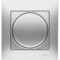 Simon Dimmer 20-500W elektronisk trafo/230V Halogen Alu