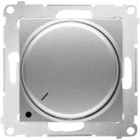 Simon Dimmer LED 2-pol Alu