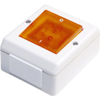 Bryter påvegg S16/2 m/lys IP55 VP PH Elko
