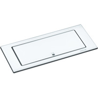 Evoline BackFlip Hvit glass 2xstikk 1xUSB lader 1000mA