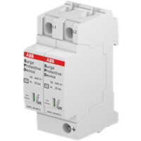 Overspenningsvern T2 2L 40-440 P QS - IT 2Pol ABB