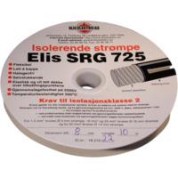 Strømpe 6mm Sort 10 meter SRG725