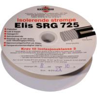 Kortslutningssikker strømpe 10mm Sort 10 meter SRG725