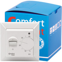 Termostat Comfort heat analog m/gulvføler 14A