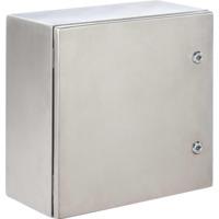 Veggskap syrefast IP66 400x300x200 montasjeplate