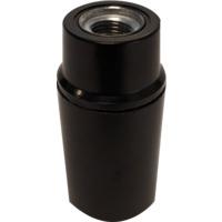 Lampeholder Mignon E14 slett SORT