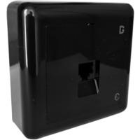 Modularkontakt UTP kat.6 P 1xRJ45 Sort dGLink