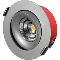 Elko Bright Tilt LED DL 7W Warmdim Alu